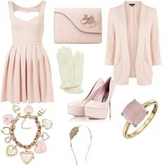 Vintage Pretty in Pink - styled on Fantasy Shopper