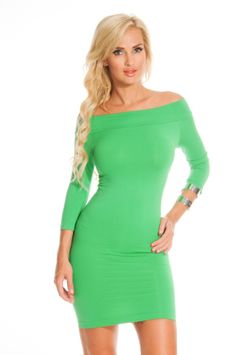 KELLY GREEN STRETCHY OFF SHOULDERS QUARTER SLEEVES FITTED DRESS,$21.99 #worldoffashion #wanderable #fashionstyle #dress #dresses #springdresses #partydress #lacedresses #halterdresses #minidresses #spring #springcollection #cute #fun #2014 #springtime #springfling #springfun #2014spring #springbreak #springfun #funinthesun #dressing #partydressing