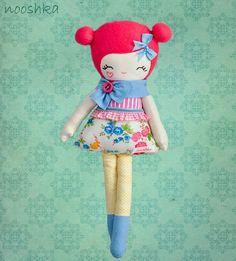 love Lulu doll, Penelope pink hair