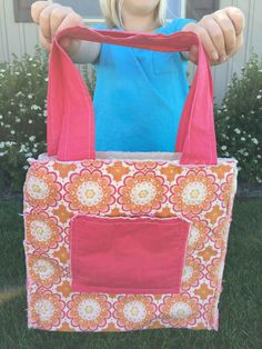 How to Sew the Easiest Bag on the Planet