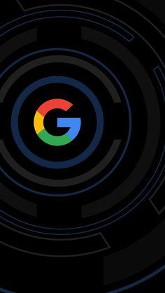 Black Google Wallpaper
