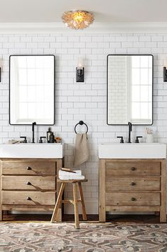 7 Sharing Cool Tips: Natural Home Decor Rustic Beams natural home decor ideas cabin.Natural Home Decor Diy How To Make natural home decor ideas cabin.Natural Home Decor Ideas Cabin. Bathroom Vanity Decor, Bathroom Renos, Master Bathroom, Bathroom Lighting, Bathroom Ideas, Pivot Bathroom Mirror, Vintage Bathroom Mirrors, Pottery Barn Bathroom, Pottery Barn Mirror