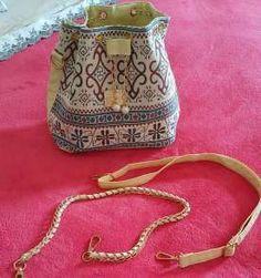 linda bolsa arabescos