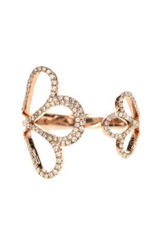 A blooming rose symbolizing the everlasting beauty of women #ring #finejewellery #diamonds WWW.NEWONE-SHOP.COM