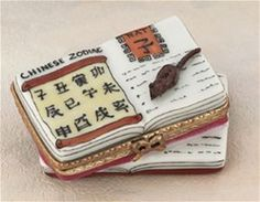 Limoges Chinese Zodiac Book Box The Cottage Shop