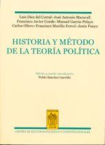 Historia y método de la teoría política. Centro de Estudios Políticos y Constitucionales, 2013.