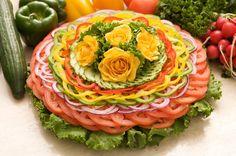 редени салати от зеленчуци