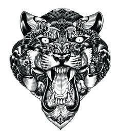 T-shirt design: Animal Clothing - Iain Macarthur