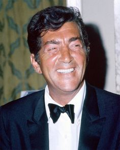 Dean Martin in reverse image - he always parted his hair on the right
