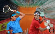 The rivals - Rafa & Roger!
