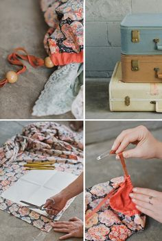 DIY-liberty-of-london-travel-bag, for dirty clothes.