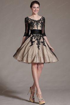 http://www.edressit.com/edressit-new-black-lace-decoration-cocktail-dress-party-dress-04143414-_p3151.html ✿  ☻  ☺