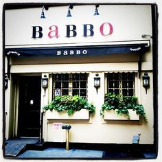 NY - Babbo - ate here years ago, would love to go back