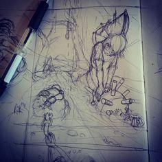 #sketch #drawing #painting #pencil #work #skullpellartwork.com #sinntraegertattoos #leipzig #sketching #steve bauer #pic #art #sketching #drawingtime #skizze #sinntraeger # tattoo