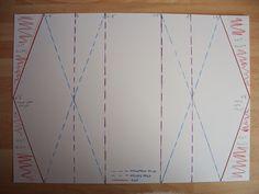Double diamond fold card diagram                                                                                                                                                     More
