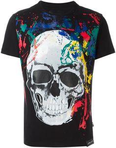 STUFF4 Men/'s Black Round Neck T-Shirt//Sri Lanka//Lankan Flag Splat//SZ