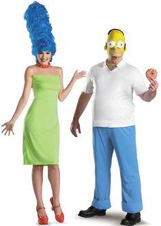 Fantasia Casal OS simpsons Homer e Merge Homer Simpson Costume, Simpsons Costumes, Homer And Marge, Halloween 2017, Halloween Makeup, Happy Halloween, Halloween Ideas, Cool Costumes, Cosplay Costumes