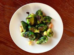 Foodie (day after) Friday: Roasted Garlic Spicy Brussel Sprouts | Real Food Barre