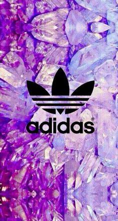 Adidas e cristais (wallpaper)