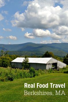There are so many great restaurants in the Berkshires for healthy family travel. This post highlights the best places for locavore food in the northern Berkshires. #hosted