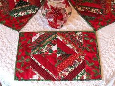 Sew Karen-ly Created...: Christmas (on a Shoe String) Placemats