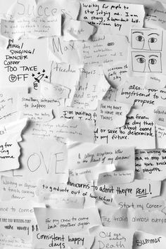 """The Whitney Museum sponsored a public art project with artist Gary Simmons. To make the project, teens collected responses to the question, """"What are you waiting for?"""""""