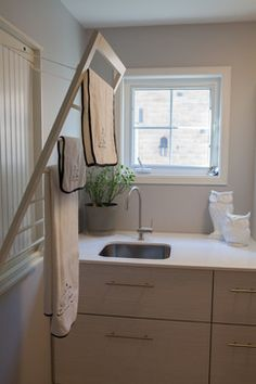 A Regal Residency Laundry Room - transitional - laundry room - toronto - Square Footage Custom Kitchens & Bath Inc.