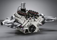 Porsche RS Spyder Engine