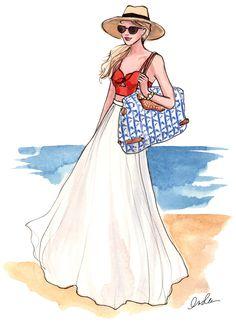 Inslee By Design Rebecca Minkoff Fashion Illustration @Layla Grayce