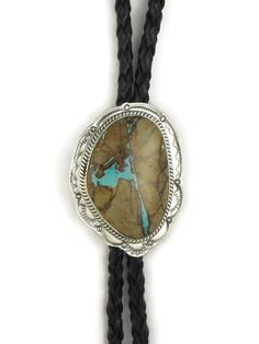 Royston Boulder Turquoise Bolo Tie by Joe Piaso Jr. Turquoise Stone, Turquoise Jewelry, Invoice Sent, Bolo Tie, Cowboy And Cowgirl, Native American Jewelry, Bouldering, Hand Stamped, Cowboys