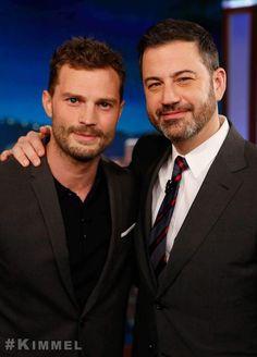 Jamie Dornan  & Jimmy Kimmel