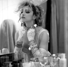 1984- Madonna by Steven Meisel. #fashion, #madonna, #80's, #likeavirgin