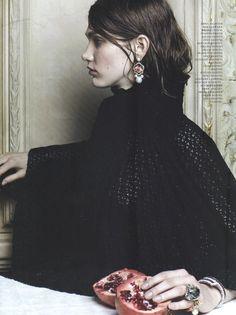 Harper's Bazaar Russia, May 2012  ph. Natalia Alaverdian  model: Irina Nikolaeva