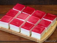 Ciasto Gumiś - dzieci za nim szaleją - Obżarciuch Kitchen Cheat Sheets, Jello, Eat Cake, Mousse, Cheesecake, Cakes, Baking, Puddings, Gelatin