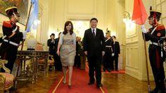 "OpinionPublicaSantafesina(ops): La Presidente recibió a Xi Jinping y anunció una ""..."