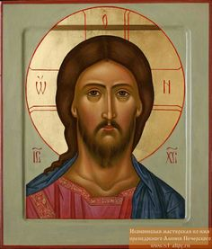 Christ the Savior Traditional Panel Russian Orthodox icon. Traditional Panel Orthodox icon of Christ the Savior. We build traditional panel heirloom quality reproduction icons. Each icon comes with hanging hardware. Religious Pictures, Religious Icons, Religious Art, Savior, Jesus Christ, Greek Icons, Paint Icon, Creativity Exercises, Sign Of The Cross