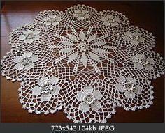 Jubii Mail :: Vi tror, at du vil synes om disse pins Thread Crochet, Diy Crochet, Hand Crochet, Lace Doilies, Crochet Doilies, Crochet Mandala Pattern, Crochet Patterns, Diy Crafts Knitting, Crochet Tablecloth