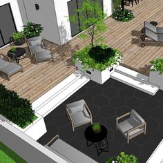 Can you tell what the owners are producing in their company .😉🐝 Adds a little personal touch I think😁 Stay tuned for more from this project. Landscaping Jobs, Outdoor Landscaping, Outside Living, Outdoor Living, Banco Exterior, Garden Design Plans, Small Backyard Pools, Outdoor Spaces, Outdoor Decor