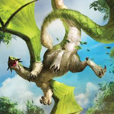 Forest Dragon from the video game Battle of Giants: Dragons
