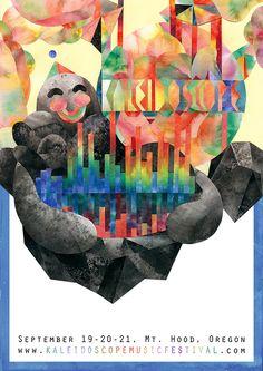 KALEIDOSCOPE poster on Behance