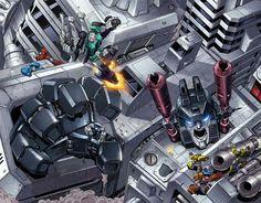 Metroplex under attack