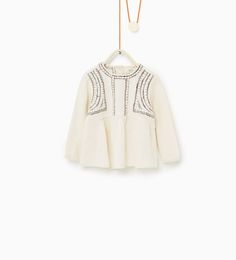 Loose fit embroidered blouse-NEW IN-BABY GIRL | 3 months-3 years-KIDS | ZARA United States