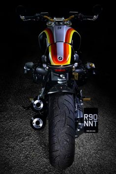 I really love those things these folks did to this distinctive Bmw R Ninet Scrambler, Scrambler Motorcycle, Bmw Motorcycles, Bike Bmw, Moto Bike, Custom Paint Motorcycle, Motorcycle Design, Nine T Bmw, Cafe Racer Bikes