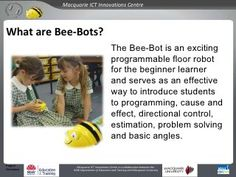 Bee-Bots at MacICT: Project overview 2010