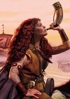 Celtic:  Boudicca, Celtic Warrior Queen.