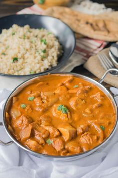 Chicken tikka masala. A classic popular Indian dish that is so full of flavor and so easy to make and much better than take-out. #curry #chickentikkamasala #indian