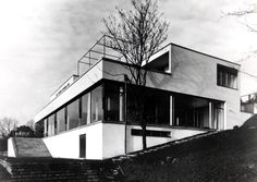Tugendhat House in Brno, Czech Republic.