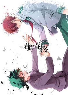 Boku no Hero Academia || Midoriya Izuku, Todoroki Shouto. - Stop giving me the feels !!!!