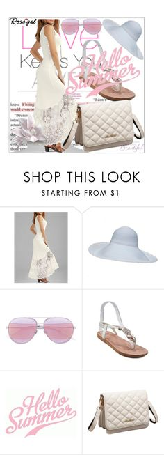 """""""Rosegal"""" by sabahetasaric ❤ liked on Polyvore featuring Christian Dior"""