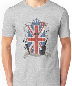 Sherlock Holmes inspired crest Unisex T-Shirt